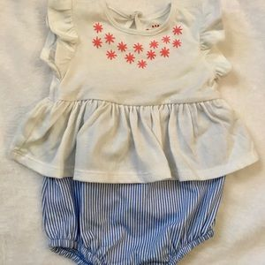 Cat and Jack Girls 3-6mo Outfit